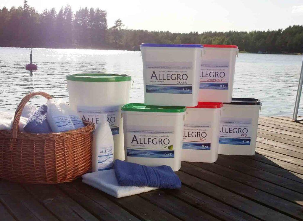 Allegro Pyykinpesuaine Laiturilla
